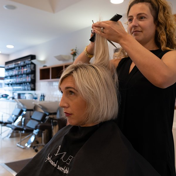 Hairdresser in Plymouth - Stylist Cutting Hair The - Cutting Gardens Plymouth