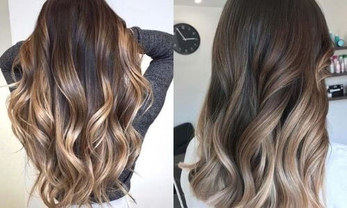 What is Ombre: Image of two examples of Sombre.
